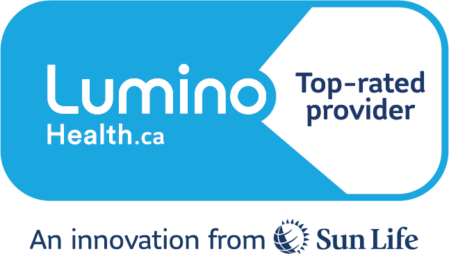 Top-rated provider Badge from Sunlife