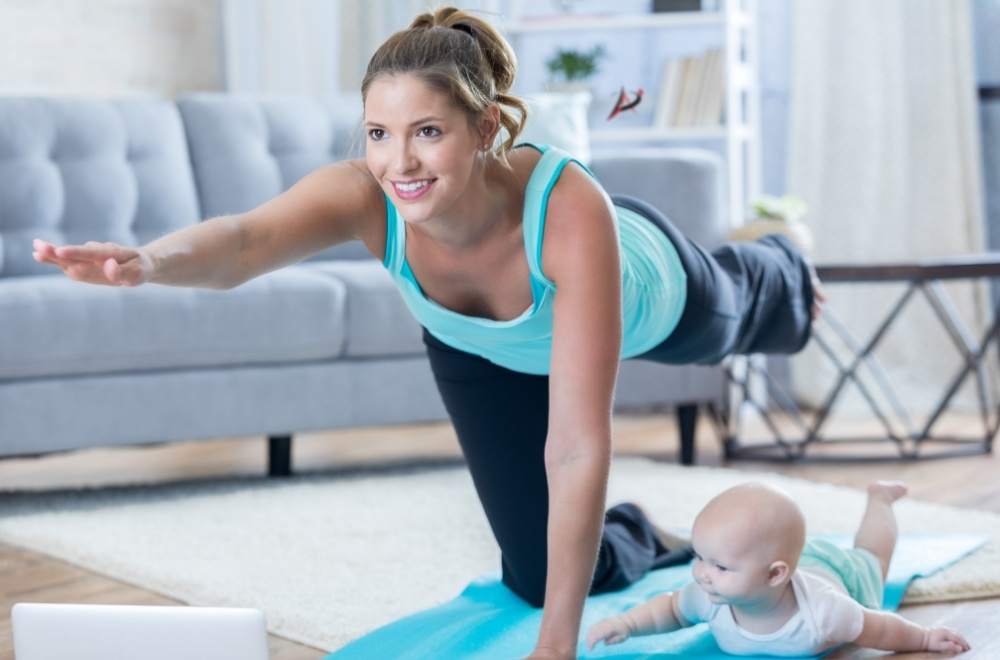Postpartum Recovery: Easy At-Home New Mom Workout